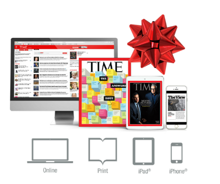how to gift magazine subscription on ipad
